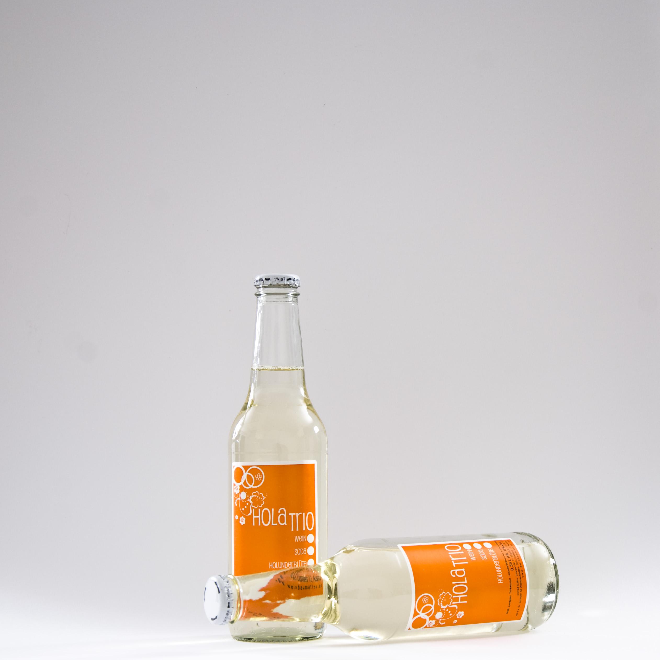 HolaTRIO Wein.Wasser.Holunderblüte Weingut Mattes